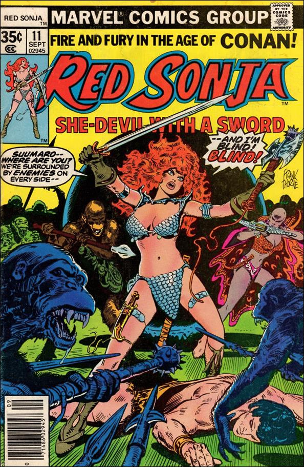 Red Sonja (1977) 11-A by Marvel