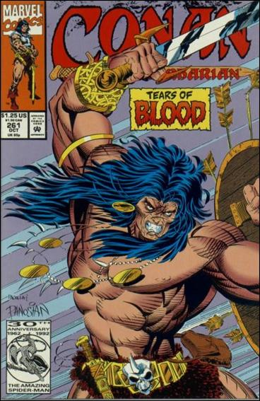 Conan the Barbarian (1970) 261-A by Marvel