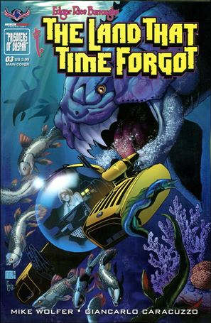 Edgar Rice Burroughs The Land That Time Forgot 3-A