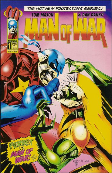 Man of War (1993) 1-B by Malibu