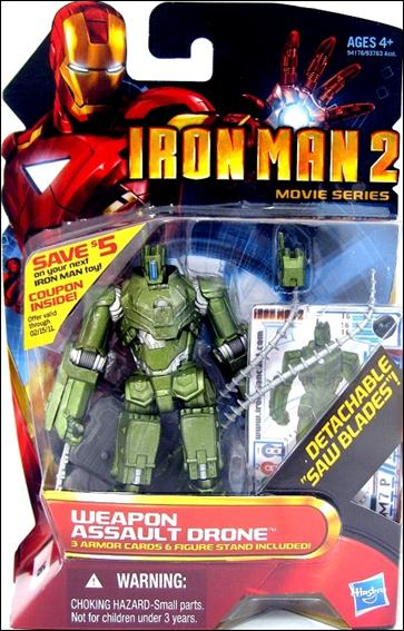 Iron Man 2 Weapon Assault Drone (Movie Series) by Hasbro