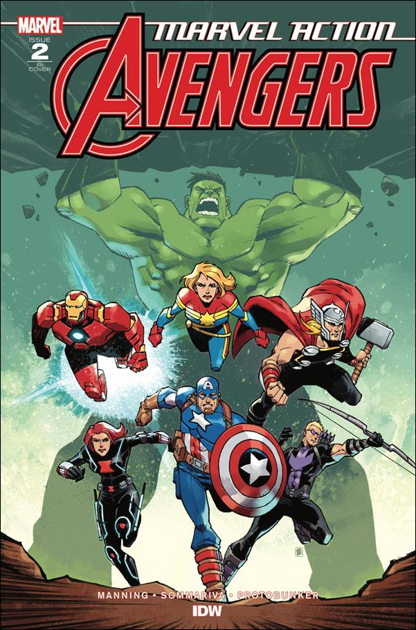 Avengers (2018/12) 2-B by IDW