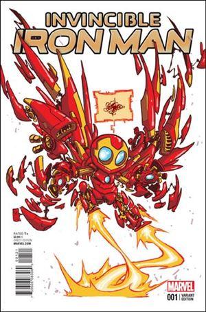 Invincible Iron Man (2015)  1-G