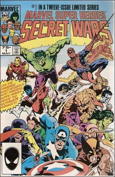 Marvel Super Heroes Secret Wars 1-E by Marvel