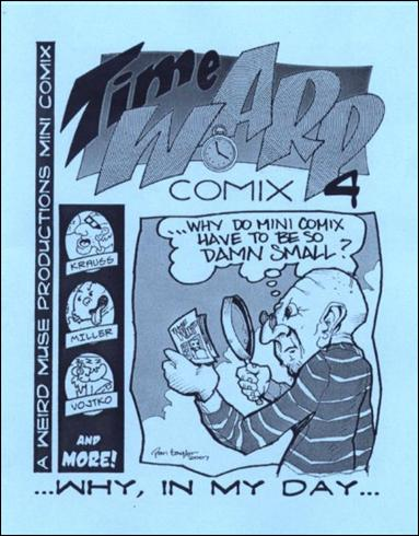 Time Warp Comix  4-A by Weird Muse Productions