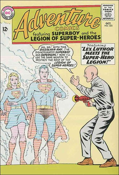 Adventure Comics (1938) 325-A by DC
