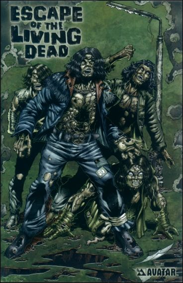 Escape of the Living Dead 1-I by Avatar Press