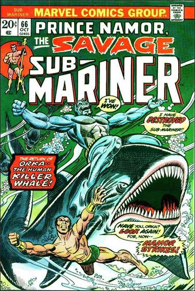 Sub-Mariner (1968) 66-A by Marvel