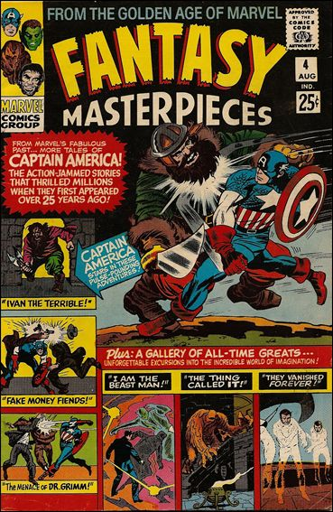 Fantasy Masterpieces (1966) 4-A by Marvel