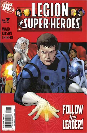 Legion of Super-Heroes (2005) 7-A by DC