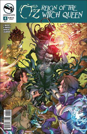 Grimm Fairy Tales Presents Oz: Reign of the Witch Queen 4-B
