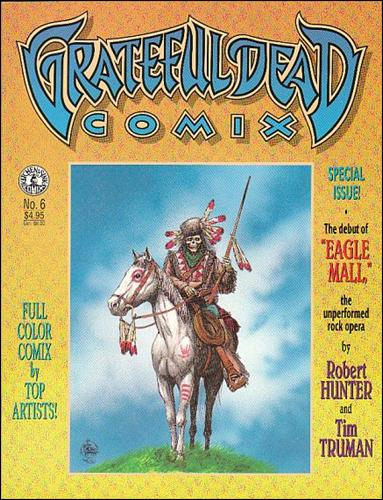 Grateful Dead Comix (1991) 6-A by Kitchen Sink