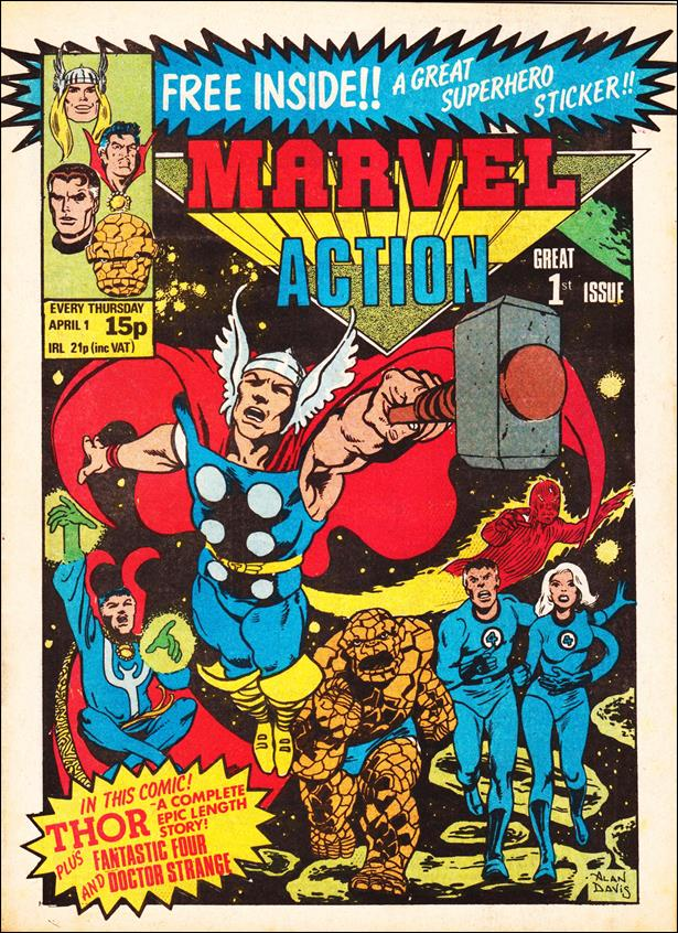 Marvel Action (UK) 1-A by Marvel UK