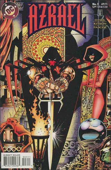 Azrael (1995) 3-A by DC