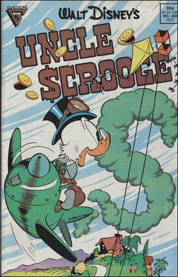 Walt Disney's Uncle Scrooge 230-A by Gemstone