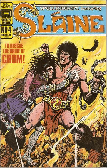 Spellbinders (1986) 4-A by Quality Comics