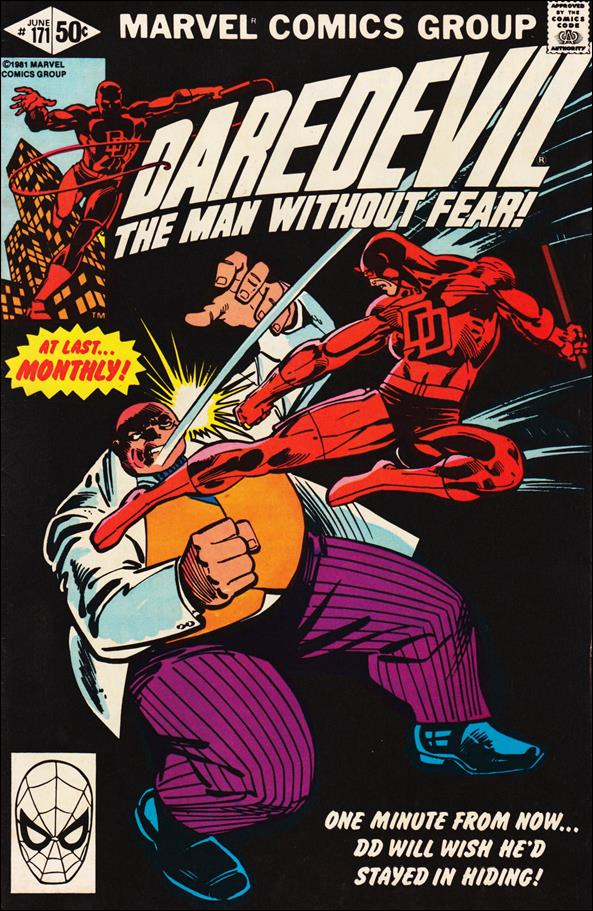 Daredevil (1964) 171-A by Marvel