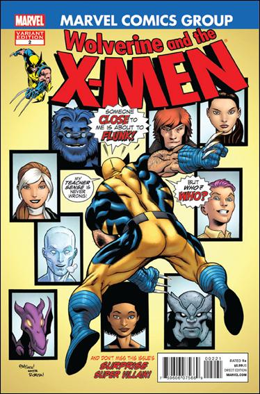 Wolverine & the X-Men 2-B by Marvel