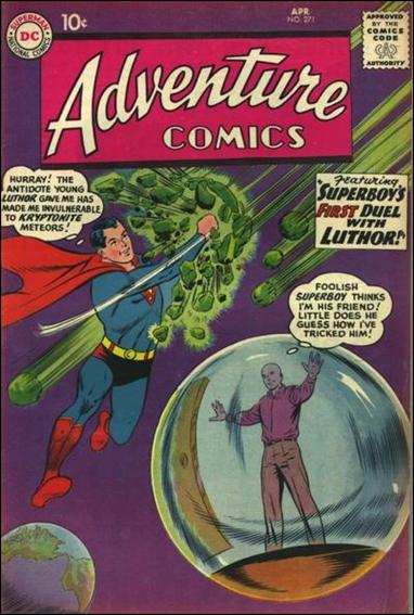 Adventure Comics (1938) 271-A by DC
