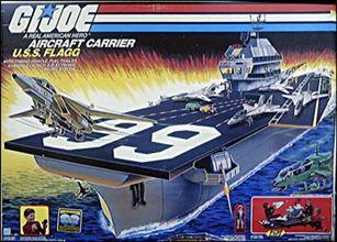 "G.I. Joe: A Real American Hero 3 3/4"" Basic Vehicles and Playsets U.S.S. Flagg (Aircraft Carrier)"