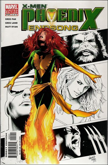 X-Men: Phoenix - Endsong 2-B by Marvel
