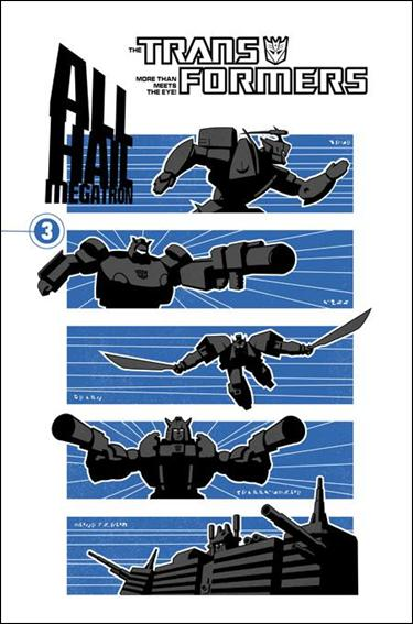 Transformers: All Hail Megatron 3-A by IDW
