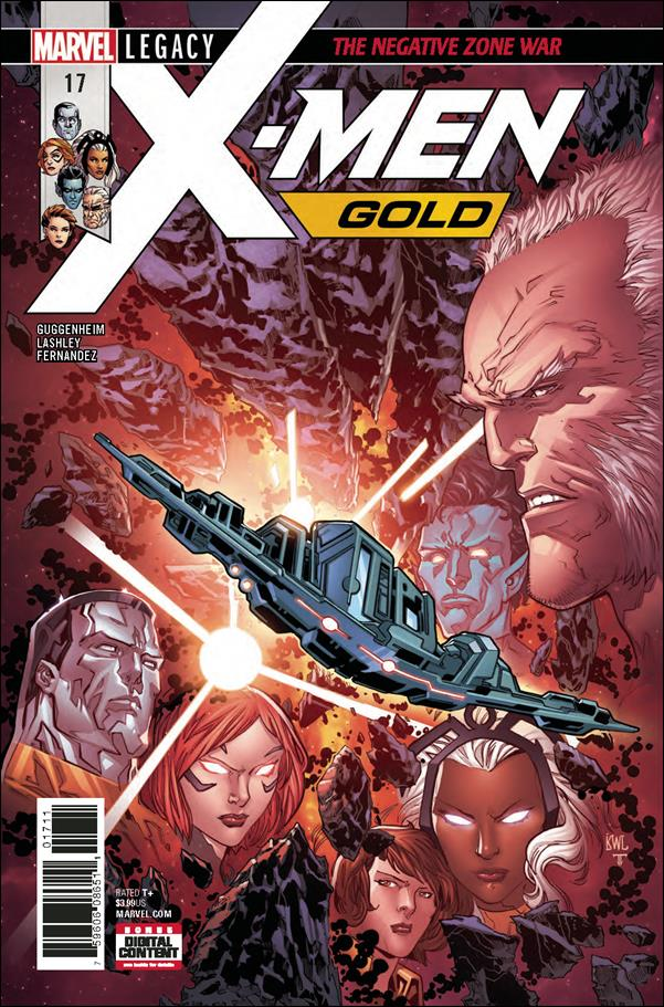 X-Men: Gold 17-A by Marvel
