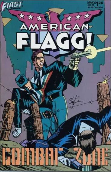 American Flagg! (1983) 29-A by First