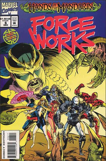 Force Works 6-A by Marvel