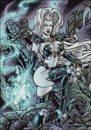 Lady Death and the Women of Chaos!: Love Bites (Base Set) 2-A