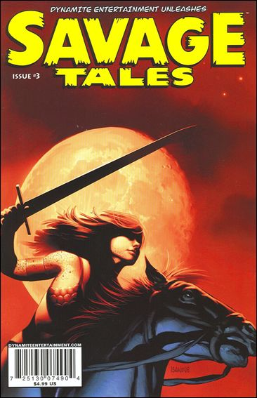 Savage Tales (2007) 3-A by Dynamite Entertainment