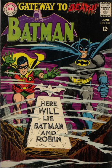 Batman (1940) 202-A by DC