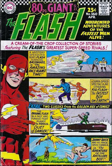 Flash (1959) 160-A by DC