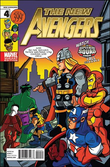 New Avengers (2010) 4-B by Marvel