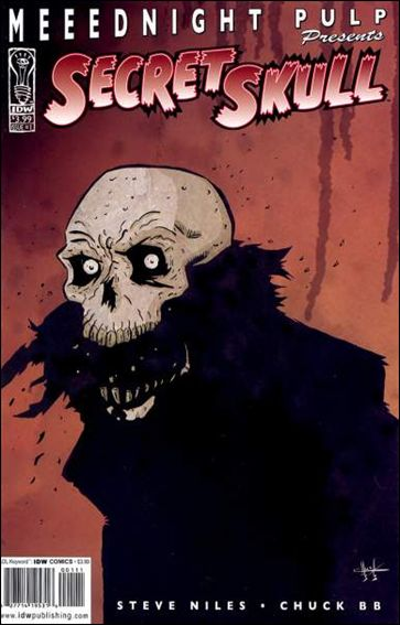 Secret Skull 1-A by IDW