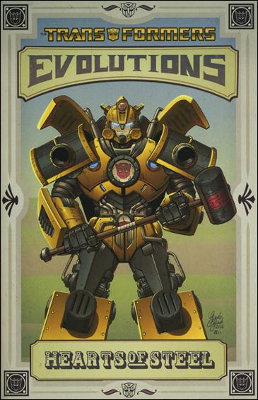 Transformers: Evolutions - Hearts of Steel 1-B by IDW