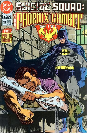 Suicide Squad (1987) 40-A by DC