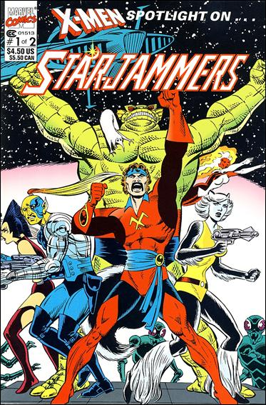 X-Men Spotlight OnStarjammers 1-A by Marvel