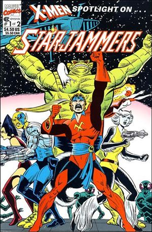X-Men Spotlight On…Starjammers 1-A