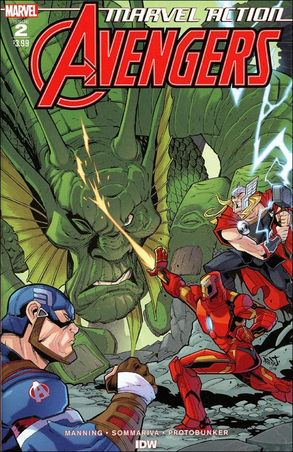 Marvel Action: Avengers 2-A by IDW