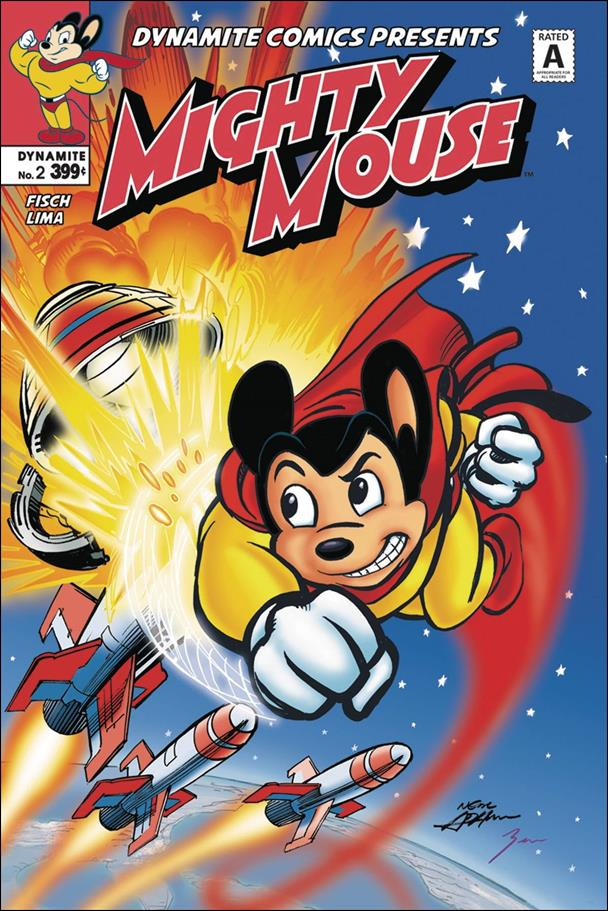 Mighty Mouse (2017) 2-A by Dynamite Entertainment