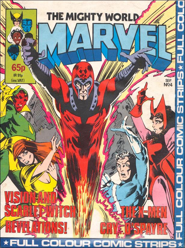 Mighty World of Marvel (UK) (1983) 4-A by Marvel UK