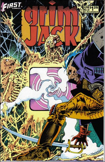 Grimjack 23-A by First