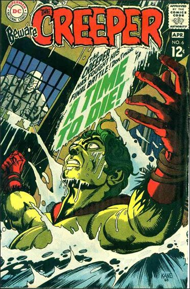 Beware the Creeper (1968) 6-A by DC