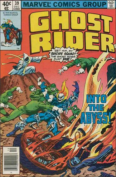 Ghost Rider (1973) 39-A by Marvel