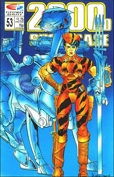 2000 A.D. Showcase (1988) 53-A by Quality Comics