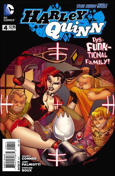 Harley Quinn (2014) 4-A by DC