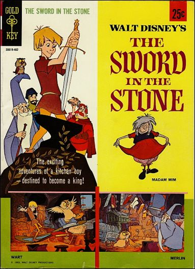 Walt Disney's The Sword in the Stone nn-A by Gold Key
