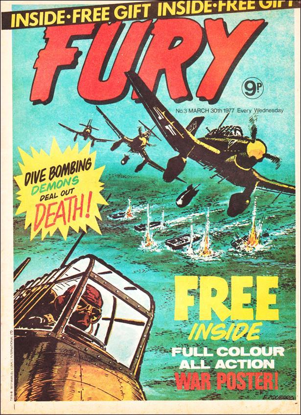 Fury (UK) 3-A by Marvel UK