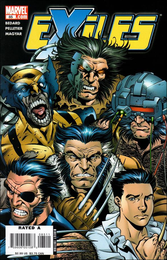 Exiles (2001) 85-A by Marvel